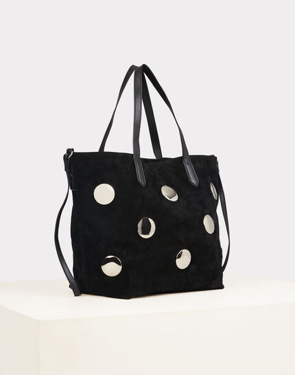 Romane black bag with silvery polka dots PhotoZ | 1-2-3