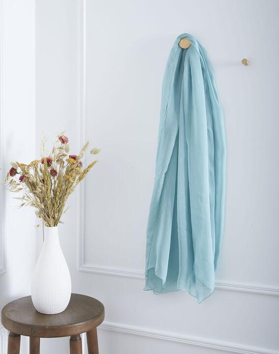 Foulard bleu en soie Alice (1) - Maison 123