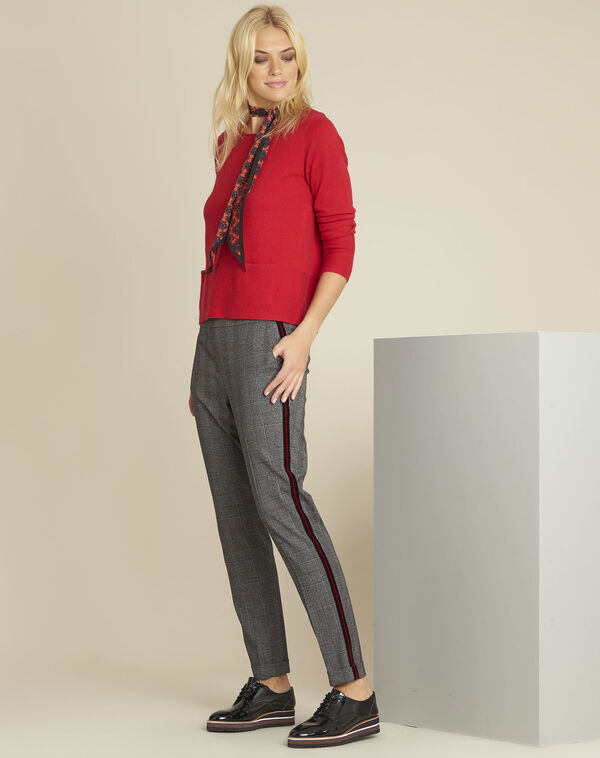Volt grey checked trousers (2) - 1-2-3