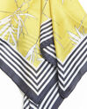 Fifi amber scarf with two prints  (2) - 1-2-3