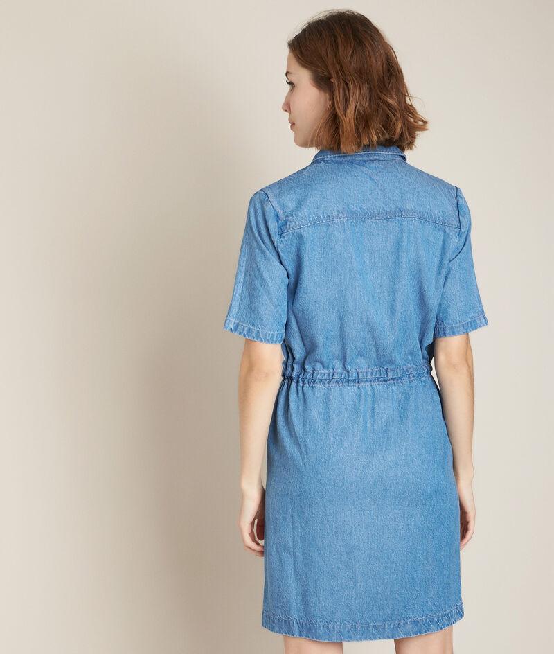 Straight-fit denim jurk Camelia PhotoZ | 1-2-3