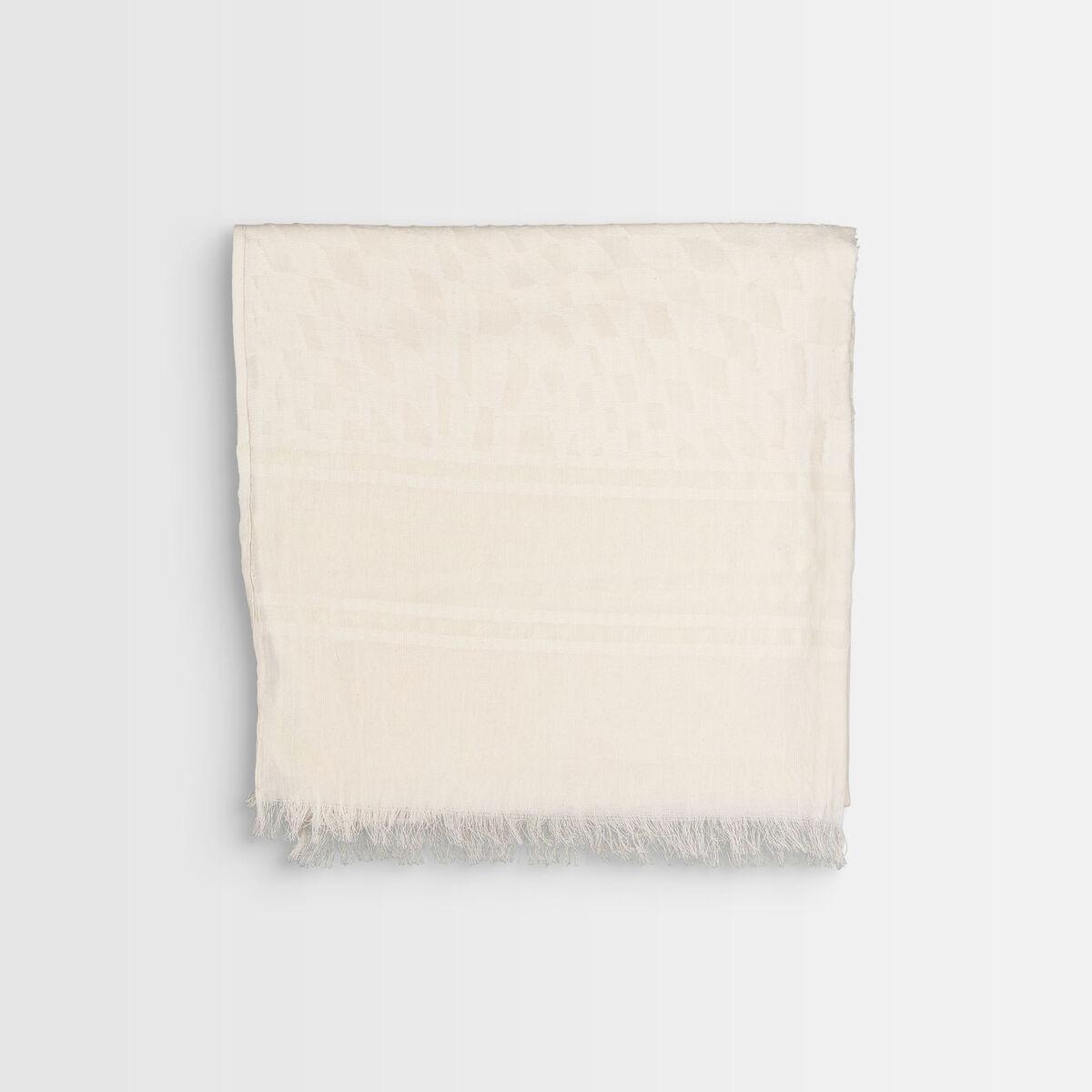 Foulard en coton biologique jaune Brooklyn PhotoZ | 1-2-3