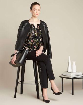 Vendôme slim cut standard size black jeans black.