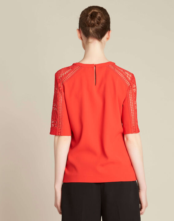 Gastel red lace top (4) - 1-2-3