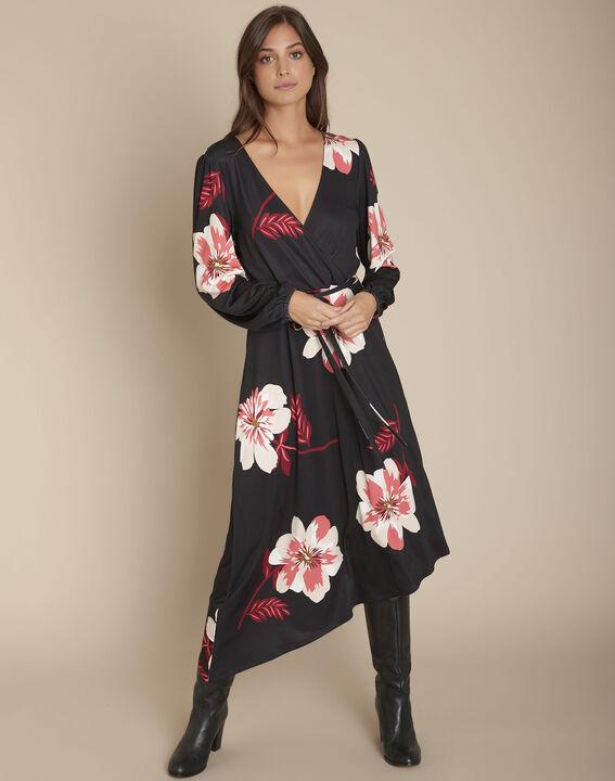 Robe cache-coeur imprimé fleuri Ivola PhotoZ | 1-2-3