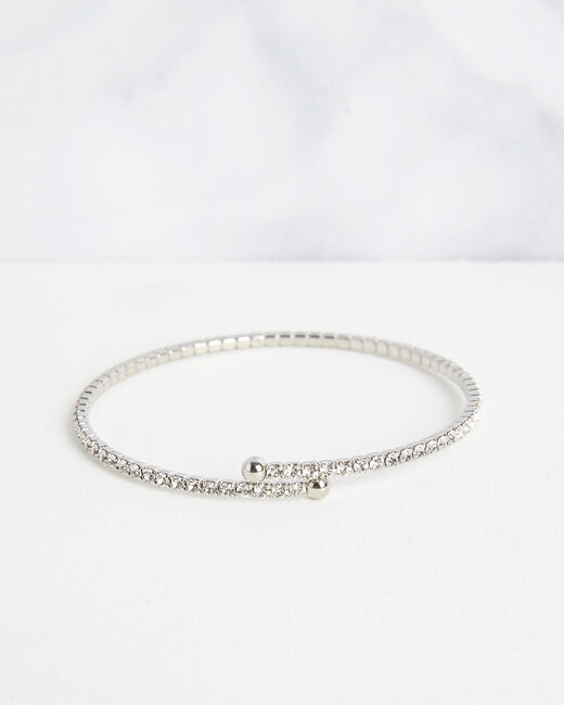 Bracelet brillant argenté Olympe (2) - 1-2-3