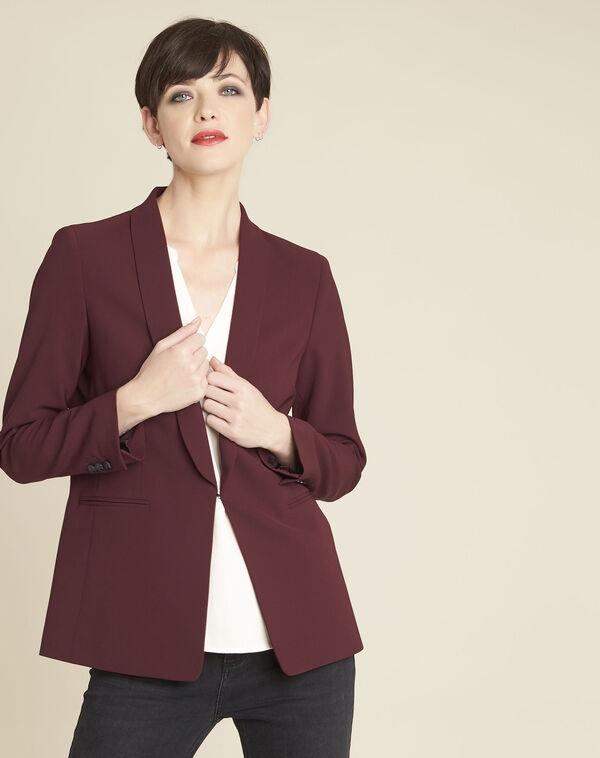 Stella red jacket in microfibre (2) - 1-2-3
