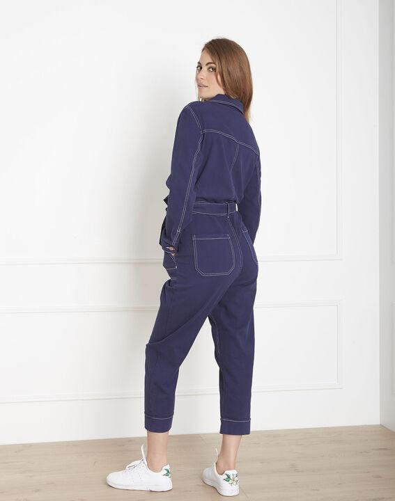 Combinaison indigo en coton Lana (3) - Maison 123