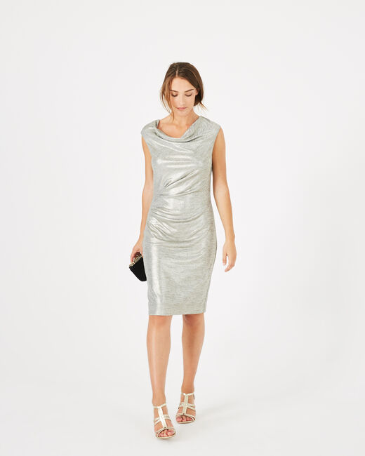 Assina silvery shiny dress (1) - 1-2-3