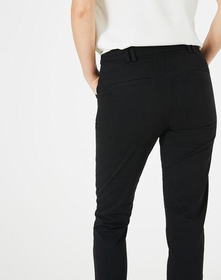 Kloe black 7/8 length trousers (4) - 1-2-3