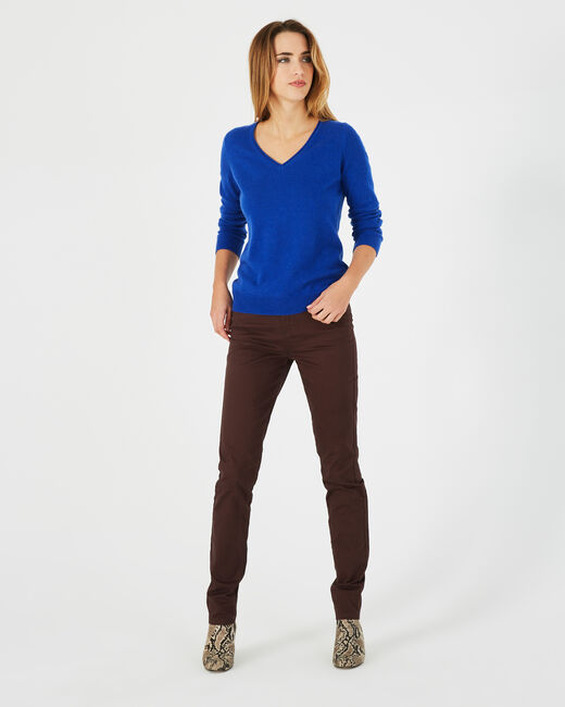 Jean slim chocolat William (1) - 1-2-3