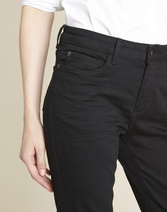 Zwarte straight-fit jeans Vivienne (3) - 37653