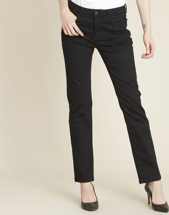 Zwarte straight-fit jeans Vivienne PhotoZ | 1-2-3