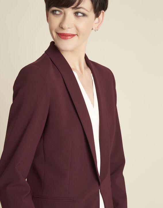 Stella red jacket in microfibre (3) - 1-2-3