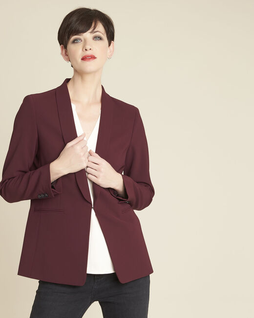 Stella red jacket in microfibre (2) - 1-2-3