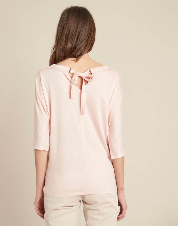 Guillem nude blouse with bow at the back (4) - 1-2-3