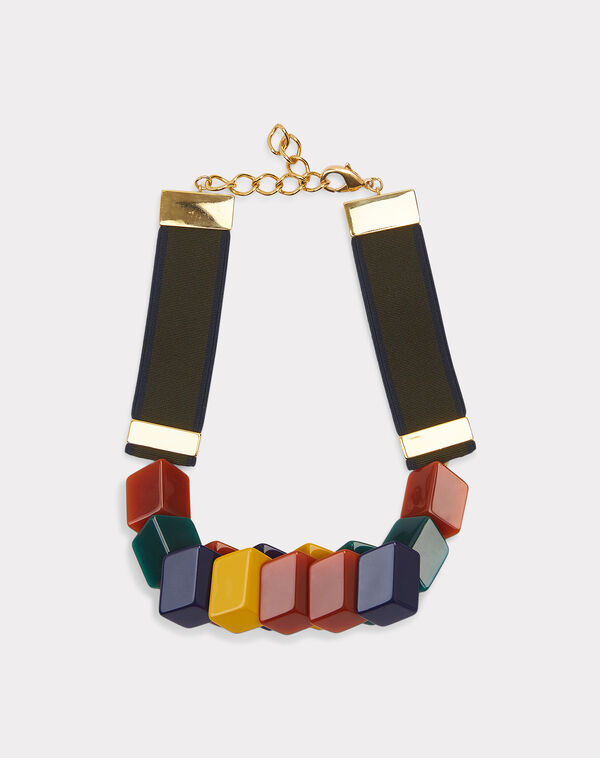 Collier multicolore inès à