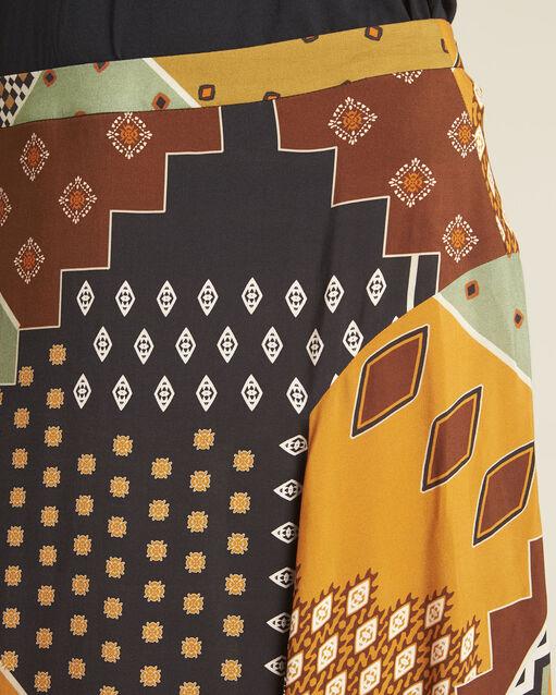 Jupe longue imprimé patchwork Arome (2) - 1-2-3