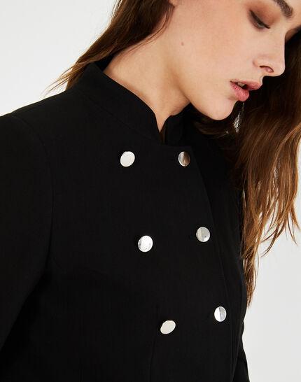 Veste de taileur noire à boutons Moustic (1) - 1-2-3