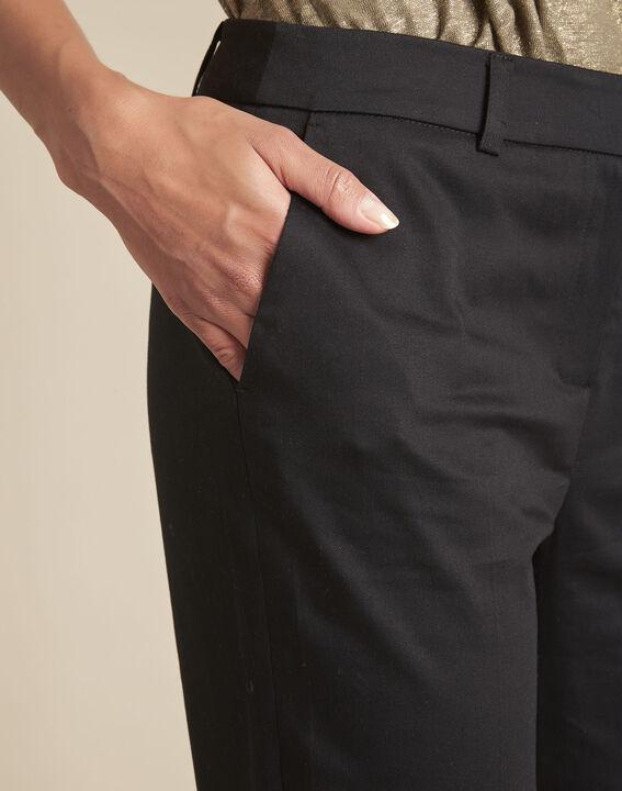 Pantalon noir cigarette Rubis (3) - Maison 123
