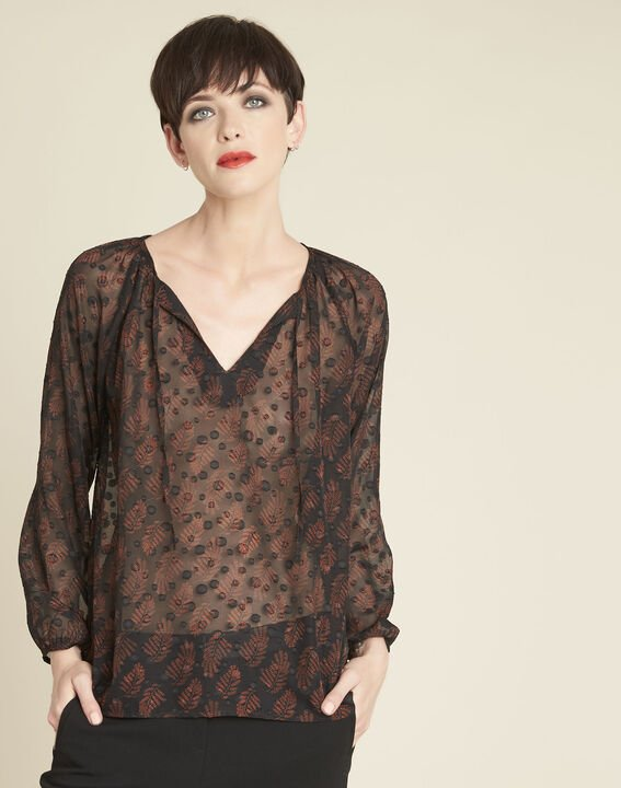Constantine black lace blouse PhotoZ | 1-2-3