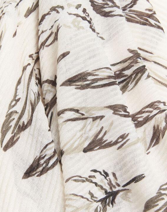 Flute nude printed scarf (2) - Maison 123