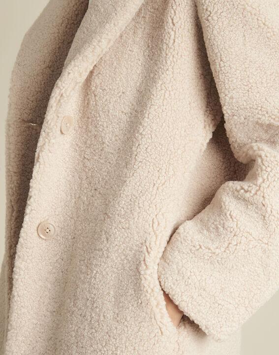 Nude Mantel in Kochwoll-Optik Elvire (3) - 1-2-3