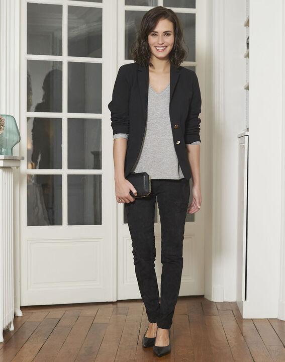 Veste noire blazer Eve (2) - 1-2-3
