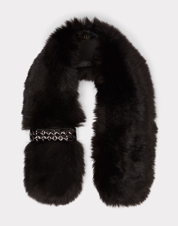 Evernight black faux fur collar (2) - 1-2-3