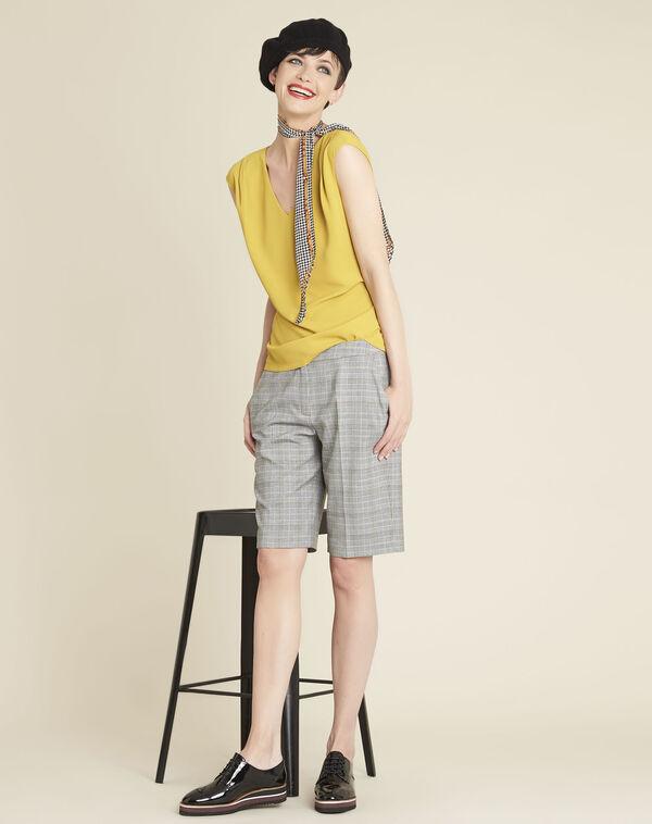 Hinox grey shorts with Prince of Wales design (1) - 1-2-3