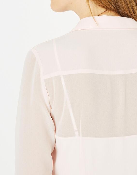 Robe longue plissée Armelle (4) - 1-2-3