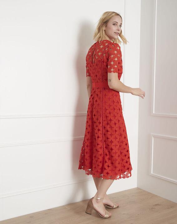Robe rouge en dentelle Heaven (4) - Maison 123