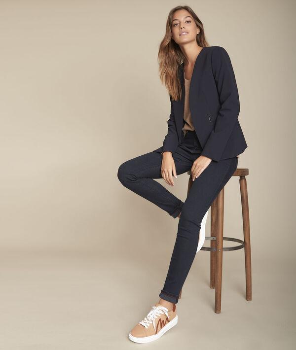 De iconische zwartblauwe slim-fit jeans Salima PhotoZ | 1-2-3