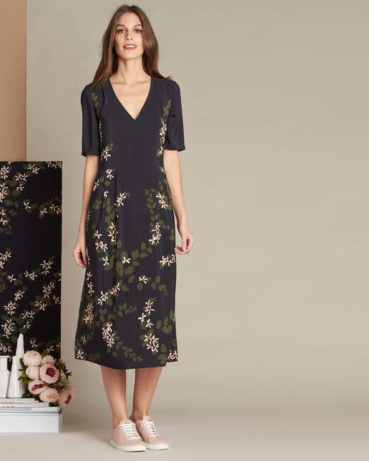 Piment long floral printed dress (2) - 1-2-3