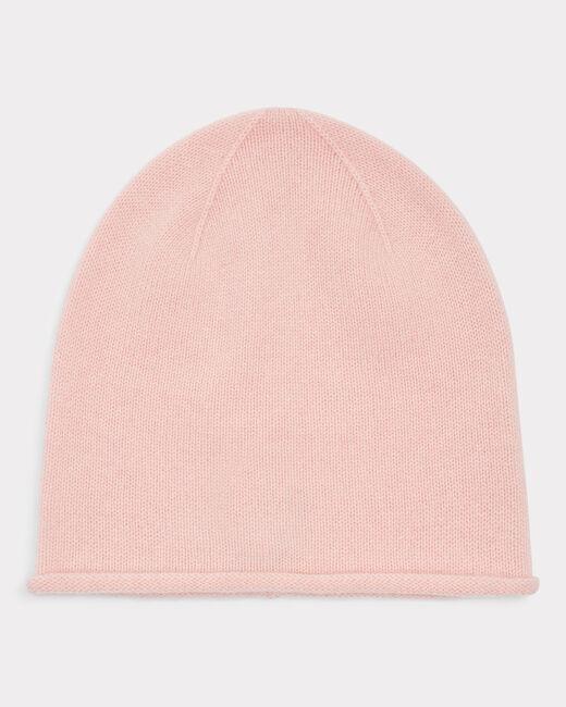 Bonnet rose pâle en cachemire Tilleul (1) - 1-2-3