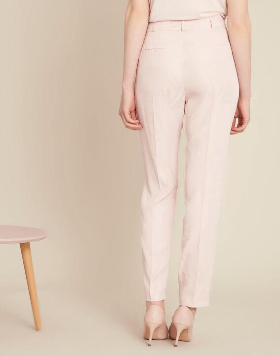 Pantalon poudre imprimé palme jacquard Vada (4) - 1-2-3