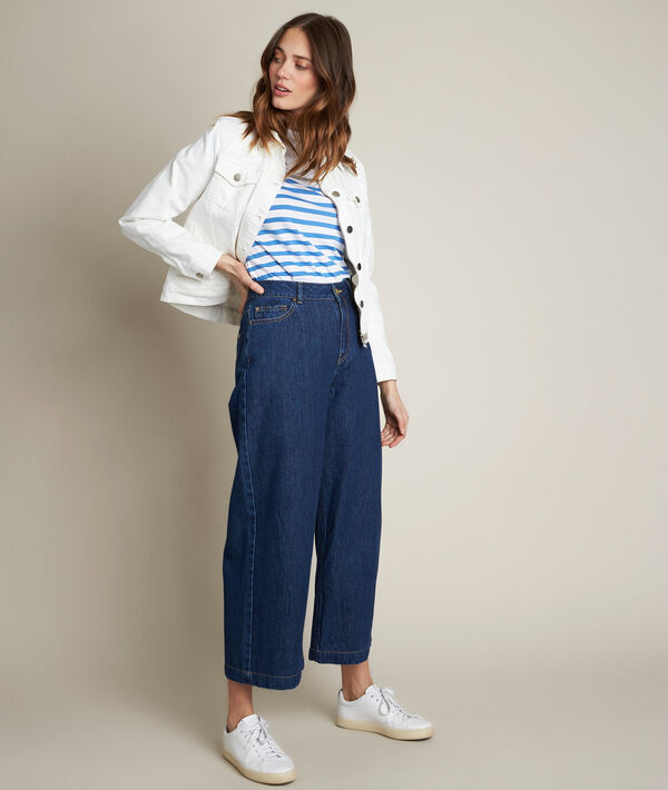 Jupe culotte en denim Anais PhotoZ | 1-2-3