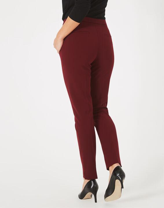 Pantalon de tailleur cassis Lara (5) - 1-2-3