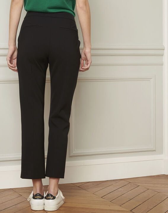 Gaston flared black trousers (3) - 1-2-3