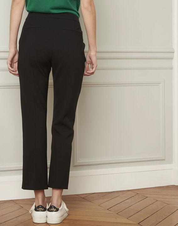 Pantalon noir évasé Gaston (3) - Maison 123