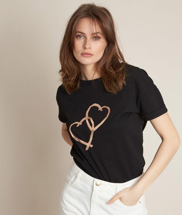 Tee-shirt en coton biologique Reinette PhotoZ | 1-2-3
