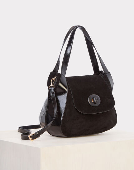 Raphael black leather bag (1) - 1-2-3