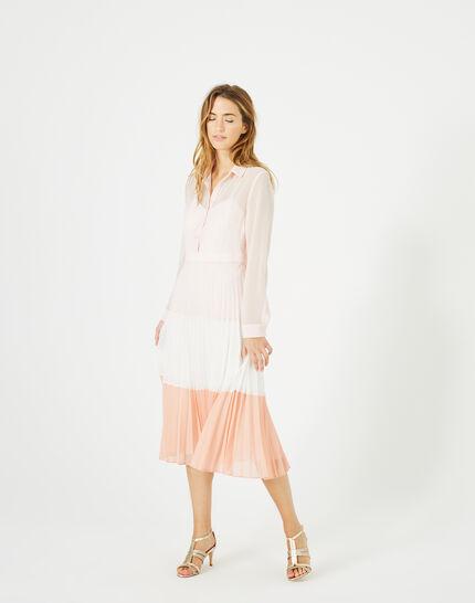 Armelle long pleated dress (2) - 1-2-3