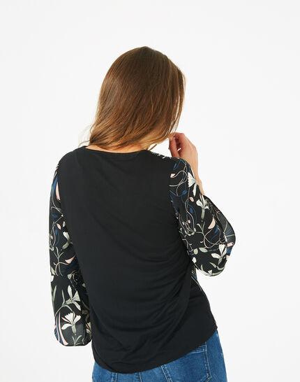 Tee-shirt imprimé floral Begonia (4) - 1-2-3