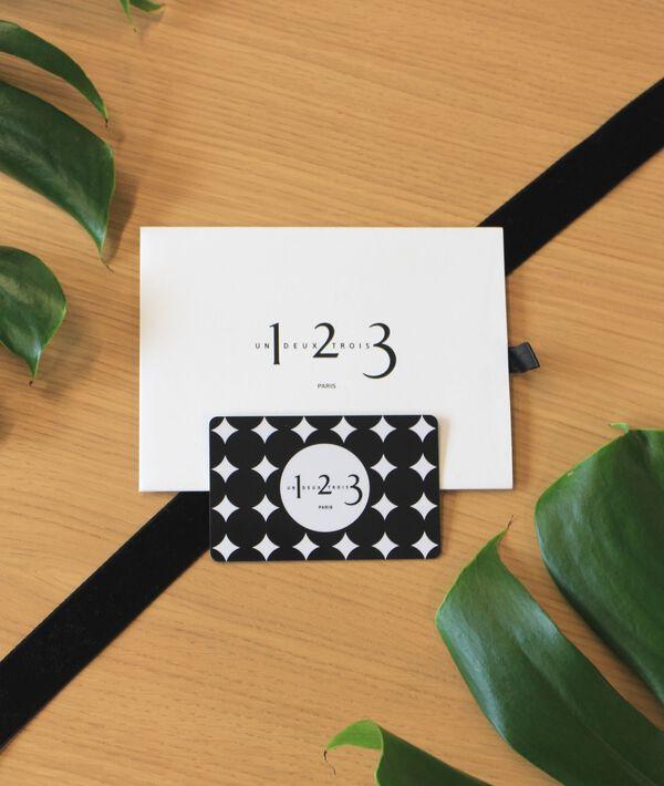 Carte Cadeau Dématérialisée 50 € PhotoZ | 1-2-3