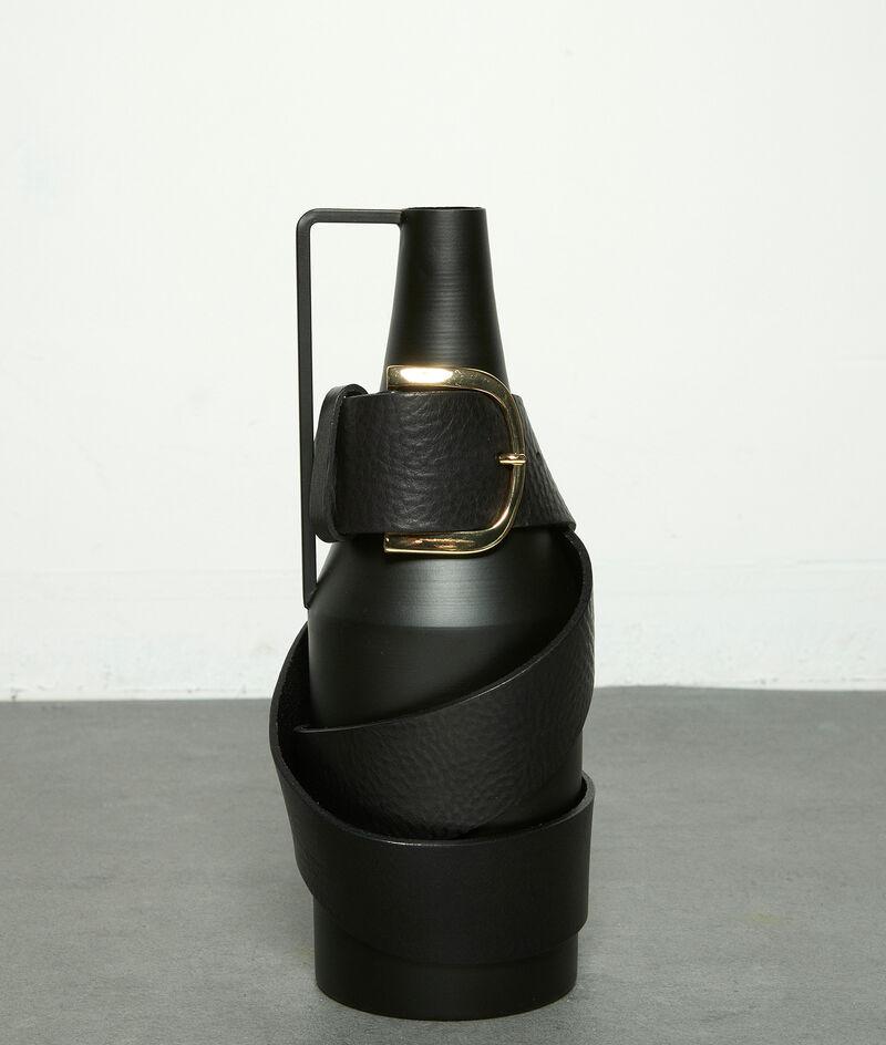 Ceinture large en cuir noir Estelle PhotoZ | 1-2-3