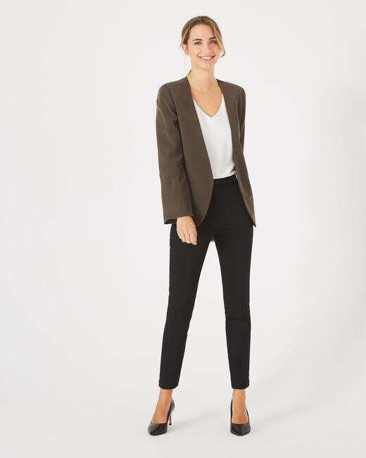 Mascara khaki belted jacket (1) - 1-2-3