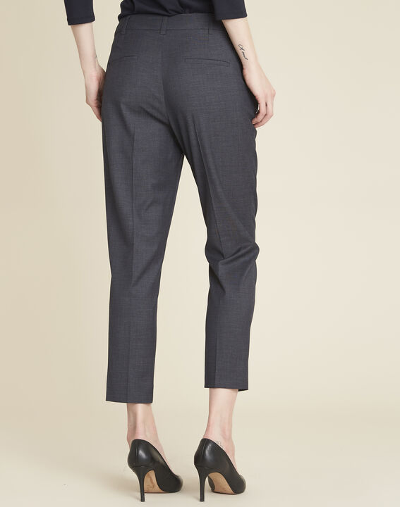 Pantalon anthracite cigarette Volt (4) - 1-2-3