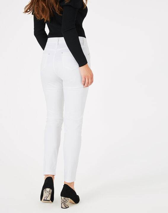 Pantalon blanc 7/8ème Oliver (4) - 1-2-3