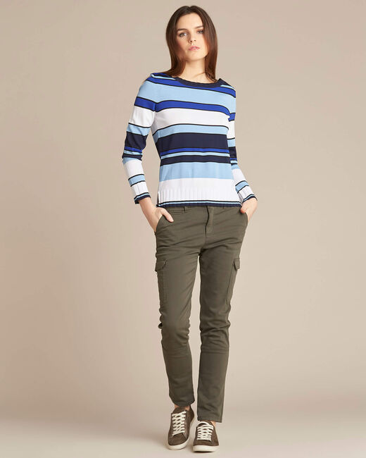 Newave blue striped sweater (1) - 1-2-3